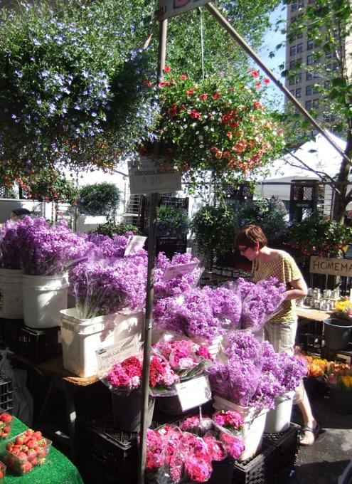 カラフルなお花いっぱいニューヨークの青空市場_b0007805_11321070.jpg