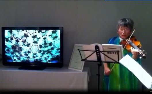 ヴァイオリン・デュエット /奥 忍+香西理子_e0255740_17114713.jpg