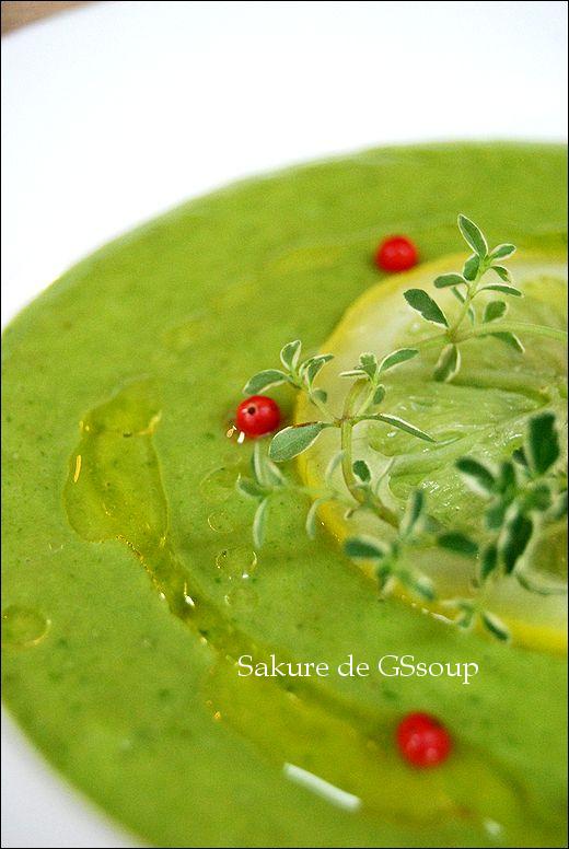 GS風 ママ友ランチにサクレde簡単おしゃれ冷製スープ_a0105872_10341450.jpg