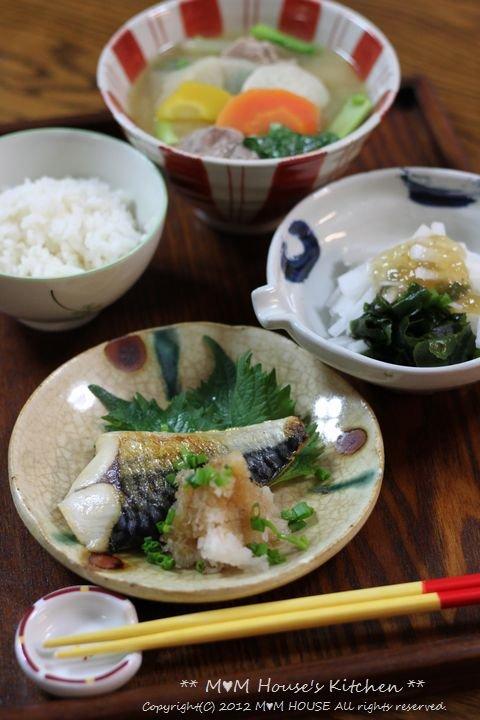 あ~ 楽ちん(^。^)弁当 ☆ 豚汁定食♪_c0139375_1232080.jpg
