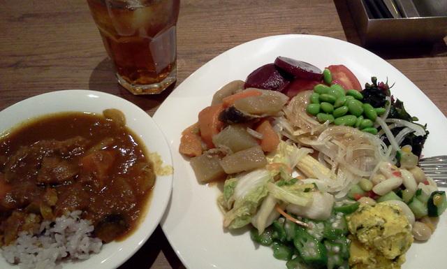 野菜摂取!@元気な食卓アイランドタワー店_c0212604_2045298.jpg