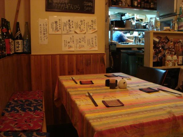 三軒茶屋「和kitchen BAKU」へ行く。_f0232060_2234139.jpg