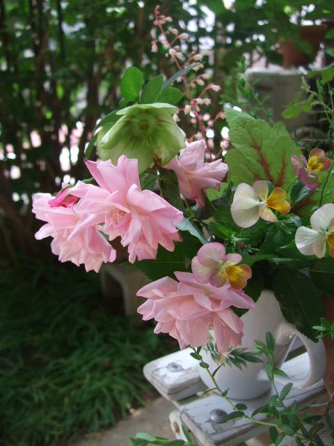 オークリーフ(5月の庭から)_f0049672_18434941.jpg