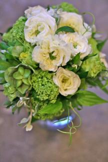 green rose bouquet_b0209477_18392373.jpg