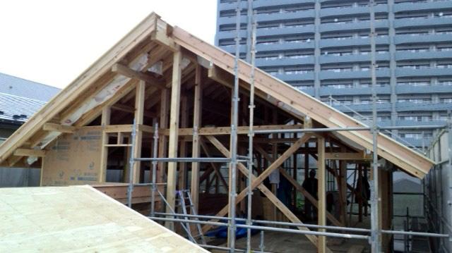 O様邸「南通り築地の家」 工事中です。_f0150893_1341375.jpg