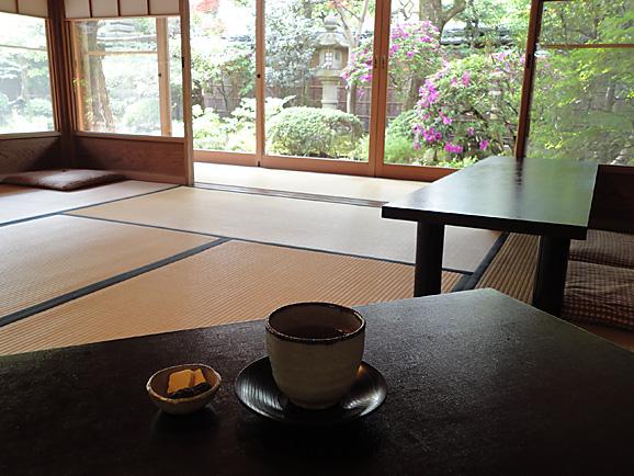茶寮 宝泉で憧れのわらび餅@京都_e0230011_17153232.jpg