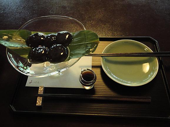 茶寮 宝泉で憧れのわらび餅@京都_e0230011_17191084.jpg