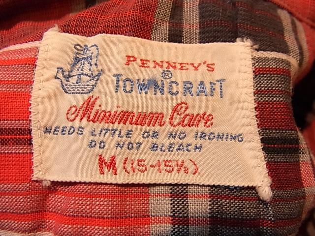 5月19日(土)入荷商品!50'S~Penny\'s Town Craft シャツ!_c0144020_14233341.jpg