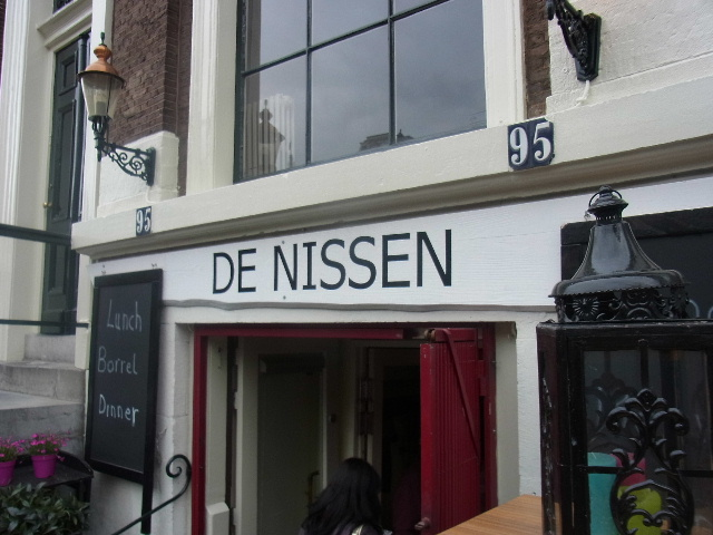 オランダの旅 (42) 【アムステルダム】 DE NISSENで夕食_c0011649_7561493.jpg
