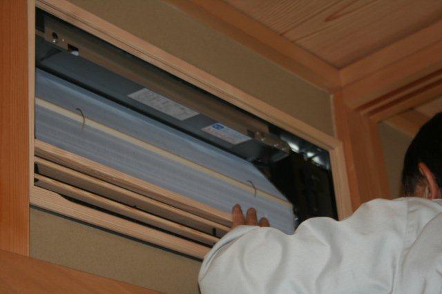 壁埋込エアコンの入替(東京都町田市)_e0207151_18222435.jpg