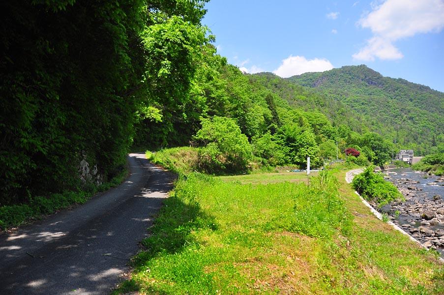 県道442号→小阪部川ダム : The B...