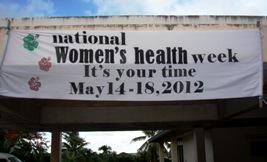 今年の女性検診ウィーク _a0043520_1684144.jpg