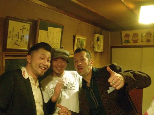 "SLIM JIM PHANTOM & TIM POLECAT JAPAN TOUR 2012 \""ROCK\'N\'ROLL DISCO SPECIAL\""_c0187573_2372435.jpg"