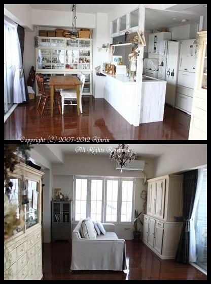 キッチンのお色直しと、三か月目の我が家。_e0237680_1439676.jpg