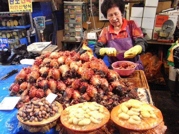 ソウルの魚市場  ~ノリャンジン水産市場再訪~  120506_c0237483_053453.jpg