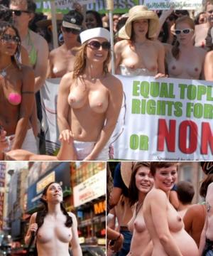 ニューヨークの街角にトップレス姿の女性が増えるかも???_b0007805_12151928.jpg