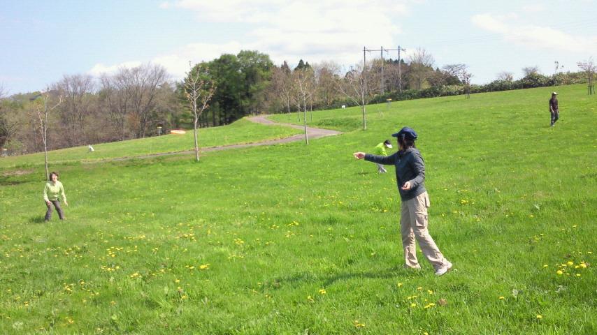 ディスクゴルフ体験会を実施_e0270550_14482833.jpg