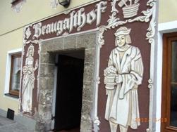 Burghausen オーストリア側から見るブルクハウゼン_e0195766_20211141.jpg