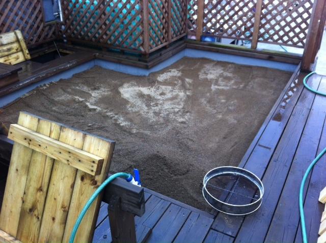園庭掃除第二弾_f0165190_20155684.jpg