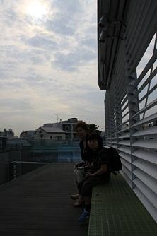 会社の屋上で見た金環日食_d0148223_8243611.jpg