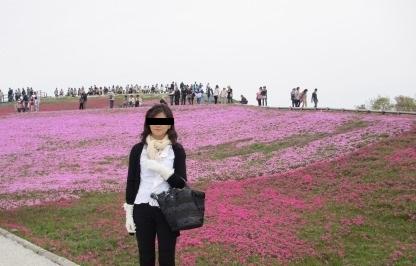"""茶臼山""""天空の花回廊""""芝桜を見て来ました♪_a0243064_16335572.jpg"""