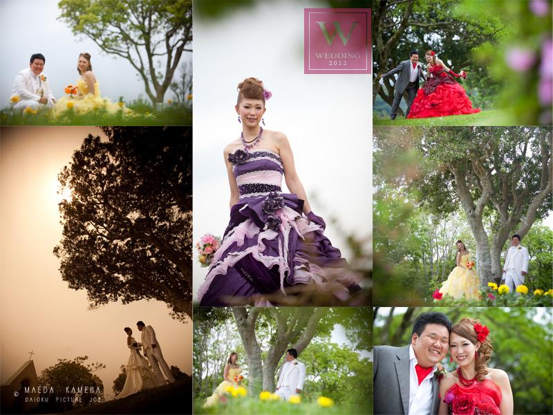 結婚式の前撮り 合歓の郷にて_c0224169_1002911.jpg