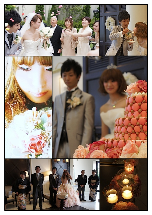 久しぶりの結婚式_e0158970_10495486.jpg