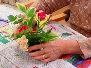 母の日の想い <アクティブライフ中山倶楽部>_c0107602_1016867.jpg