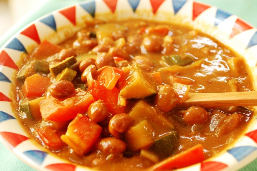 ベジタブル豆カレー♪_d0104926_1561910.jpg