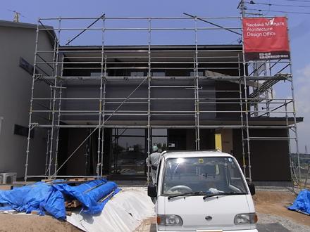 『横塚の家』 外装工事_e0197748_1340465.jpg