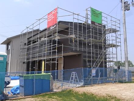 『横塚の家』 外装工事_e0197748_1340989.jpg
