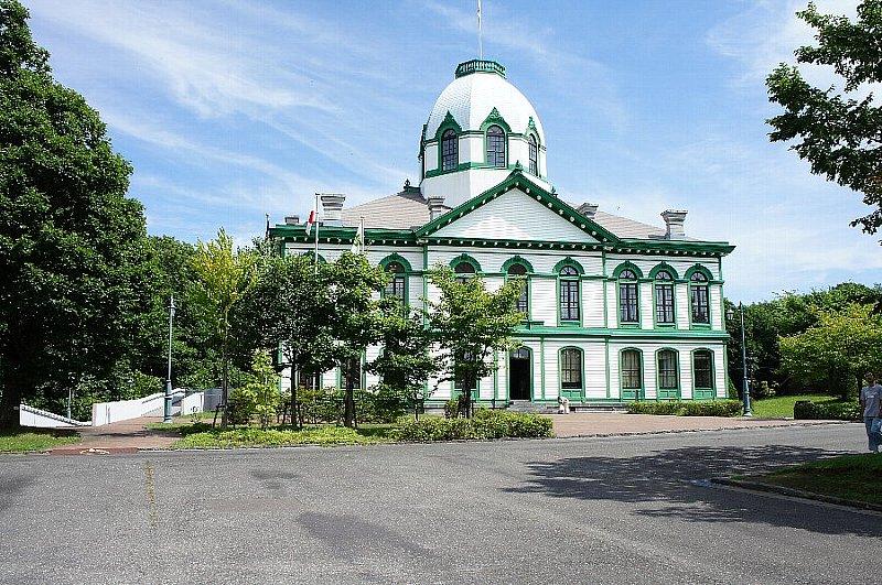 北海道開拓の村 旧開拓使札幌本庁舎_c0112559_13391682.jpg