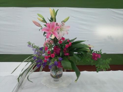 小原流、花展に行ってきました_e0097770_7463938.jpg