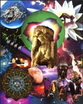 あなたの思い描く宇宙に 大アルカナ21(ボイジャータロット)_f0228000_822331.jpg