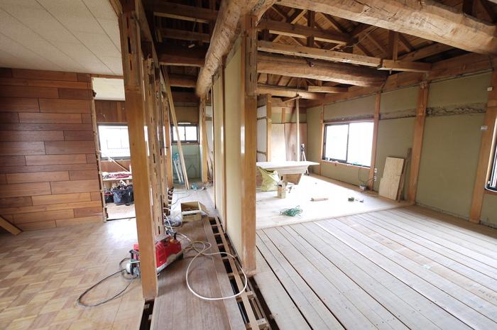 本格木造住宅大改造6 2期工事スタート_e0214805_10564932.jpg
