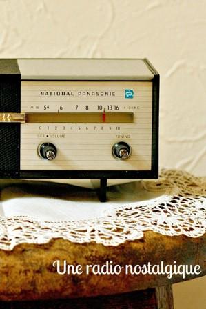 レトロなラジオ*_a0169912_21491521.jpg