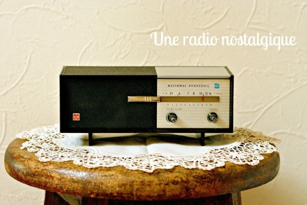 レトロなラジオ*_a0169912_21493112.jpg