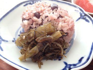 北海道の山菜2012年 ② 山蕗 炒め煮と佃煮_e0134337_14462542.jpg
