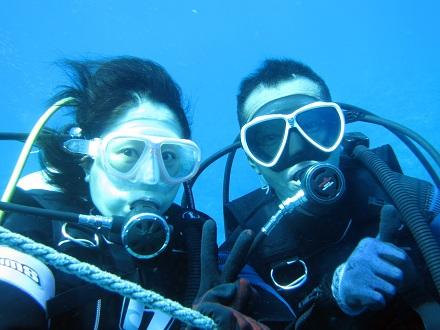 慶良間で体験ダイビングを楽しみました!_a0156273_17501717.jpg