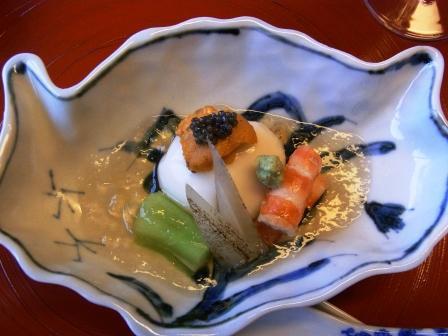パレスホテル直営 日本料理「和田倉」にて趣ある空間でのひと時_a0138976_1592076.jpg