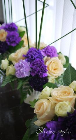紫のカーネーション_a0135999_23382291.jpg