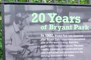 20年で生まれ変わったニューヨークのブライアント・パークの写真展_b0007805_9375559.jpg