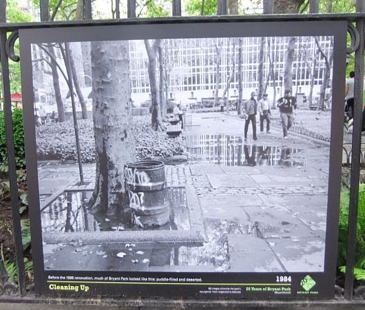 20年で生まれ変わったニューヨークのブライアント・パークの写真展_b0007805_9385891.jpg