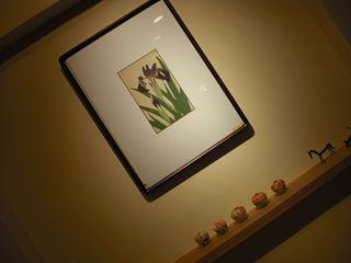 自宅の季節の絵に変えました。_f0162932_11182758.jpg