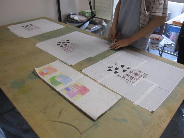 6月のアトリエクルール染色教室_f0180433_1838504.jpg
