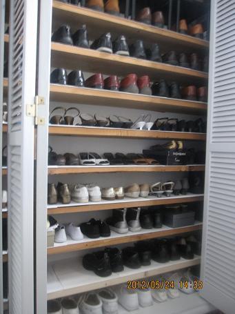 素晴らしく綺麗になったカーテンと靴の整理_a0279743_16501419.jpg