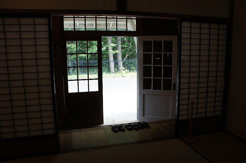 北海道開拓の村 旧開拓使爾志通洋造家_c0112559_1683378.jpg