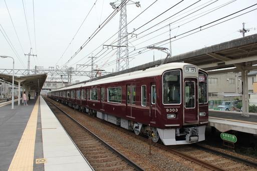 阪急9303F 試運転_d0202264_1726556.jpg
