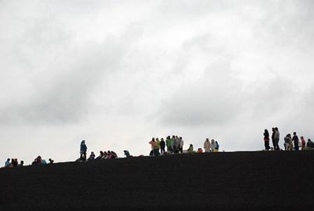 パワースポット三原山・裏砂漠での奇跡の金環日食体験_b0053082_539234.jpg