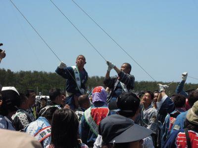 浜松祭り2日目「大凧、いよいよ空へ・・」_e0030586_23313114.jpg